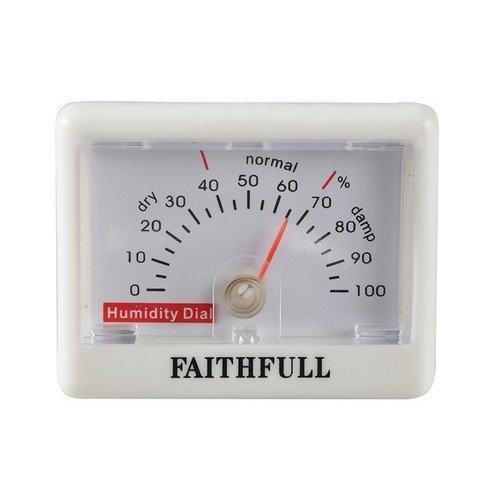 Faithfull FAITHHUMID Humidity Dial (Hygrometer)