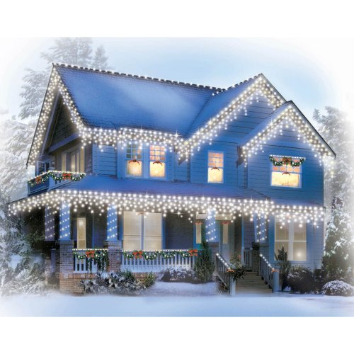 LED Christmas Icicle Fairy Xmas Lights - Timer & 8 Functions