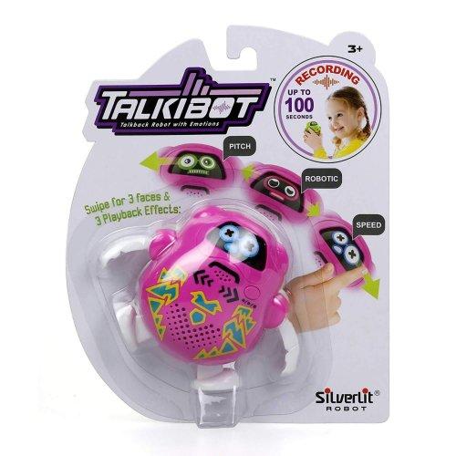 Silverlit Talkibot Robotic Voice Recording Pink Toy Robot For Kids