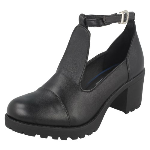 Girls Red Tag Smart Chunky Sole Shoes