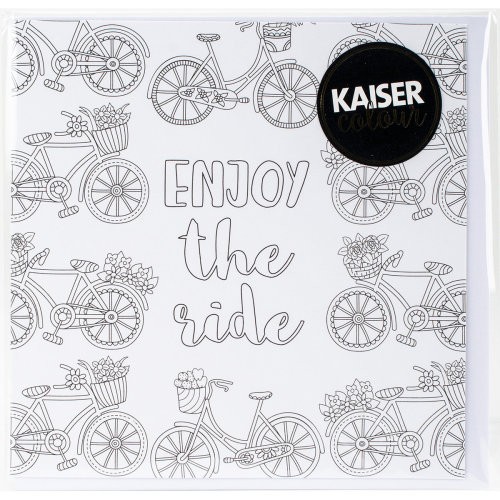 "KaiserColour Gift Card W/Envelope 6""X6""-Enjoy The Ride"