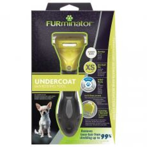 Furminator Undercoat Deshedding Tool For Extra Small Short Hair Dog