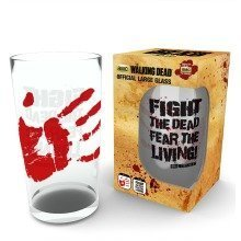 The Walking Dead Fight the Dead Pint Glass