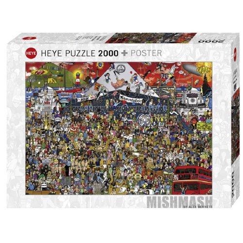 HY29848 - Heye Puzzles - 2000 pc British Music History