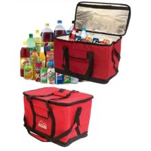 Extra Large 26L Insulated Cooler Cool Bag Collapsible Picnic Camping Fishing Bag