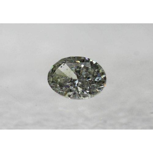 Certified Natural Diamond 0.77 Carat H SI2 Oval Loose 141