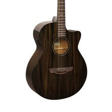 Faith FPVCK Nexus Venus Cutaway Electro Acoustic Guitar, Copper Black