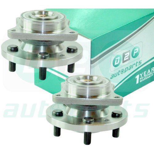 2x FRONT WHEEL BEARING HUB FOR LAND ROVER DISCOVERY 3 & 4 RANGE ROVER SPORT PAIR