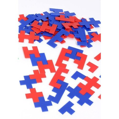 Childrens Letter Shape Plastic Tessellations - Mathematics/Education