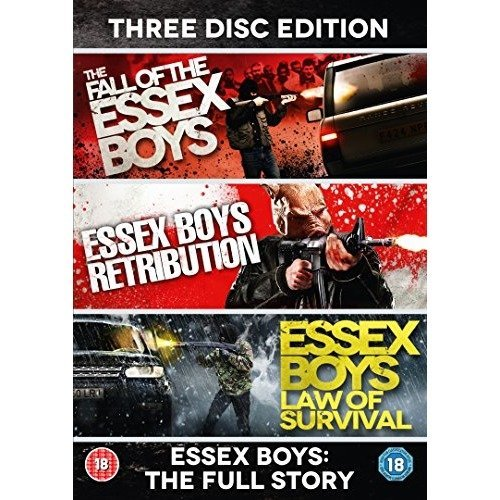 Essex Boys: the Full Story - 20th Anniversary Edition [3 Discs] [dvd]