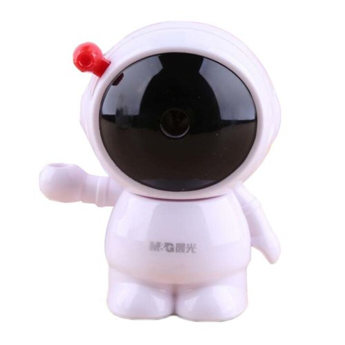 Office Plastic Pencil Sharpener Astronaut Style