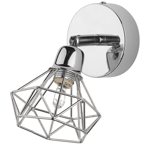 Wall Lamp Metal Silver ERMA