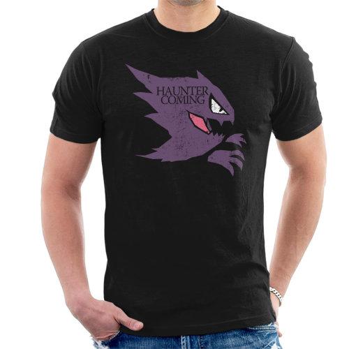 Pokemon Game Of Thrones Haunter Is Coming Men's T-Shirt