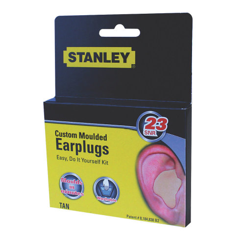 STANLEY SY330 23DB CUSTOM MOULDED CORDED EAR PLUGS