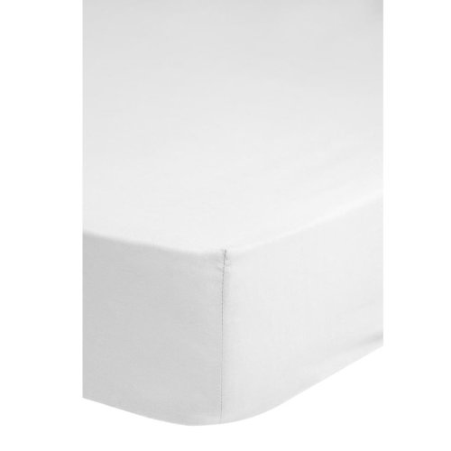 Emotion Fitted Sheet Jersey 90/100x200 cm White 0200.00.42