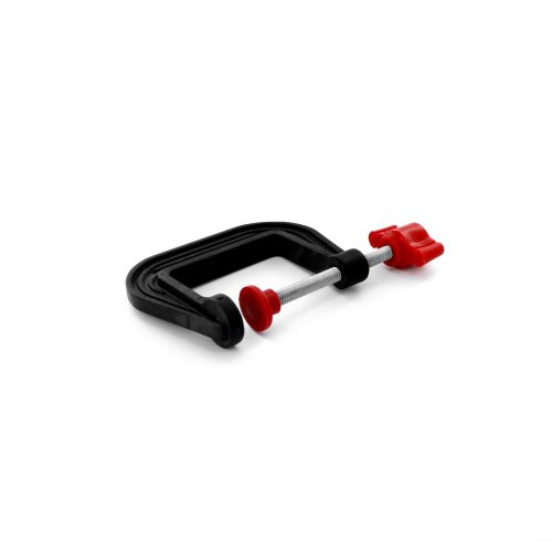 50mm Lightweight Plastic G-clamp -  modelcraft plastic 50mm gclamp modelling tools spcl3050 gclamps