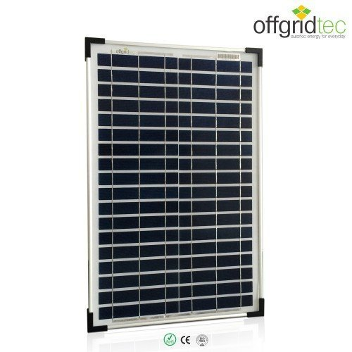 Offgridtec 20 W/12 V Solar Panel Poly 3–01–001270