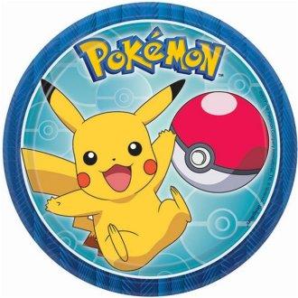 Pokemon 30362705 Dessert Plates - 8 per Pack