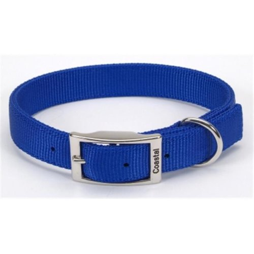 Coastal Pet Products CO06392 20 in. Double Web Collar - Blue