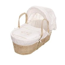 Obaby Hello Little One Moses Basket - Cream