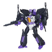 Skywarp Transformers Generations Leader Class Action Figure