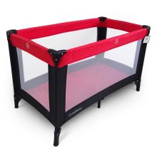 Baby Portable Pop Up Travel Cot - Red