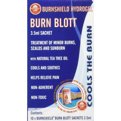 Burnshield Hyrdogel Burn Blott Sachets - Pack of 10