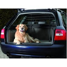 Trixie 1315 Protective Car Boot Bars, 85-140/ 75-110 Cm, Black - Dog Guard Safe -  car black 1315 dog guard safe trixie protection vehicle puppy