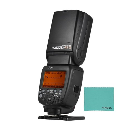 YONGNUO YN600EX-RT II Professional Creative TTL Master Flash Speedlite 2.4G Wireless 1/8000s HSS GN60 Support Auto/Manual Zooming for Canon Camera...