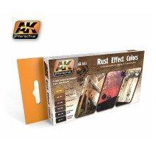 Ak00551 - Ak Interactive Set Rust Effect Colors