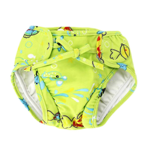 Reusable Swim Diaper Adjustable Absorbent Shower Diapers for Baby Toddler, A06