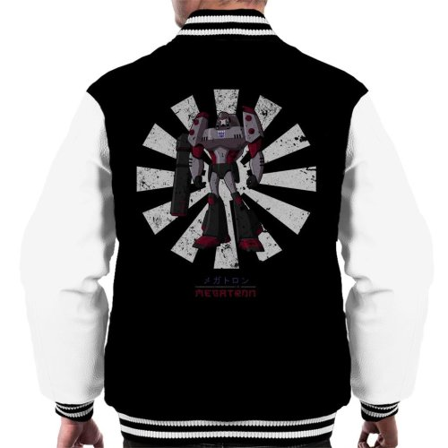 Megatron Retro Japanese Transformers Men's Varsity Jacket