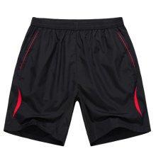 Quick-drying Holiday Pants Loose Beach Shorts Men Casual Boardshorts 4XL Red