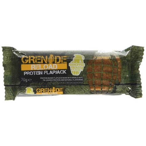 Grenade Reload Protein Flapjack - 12 Pack