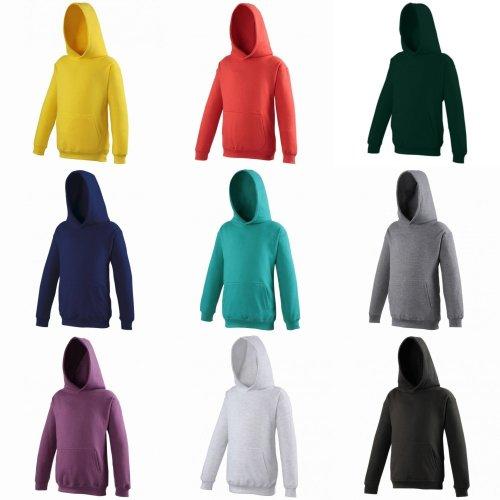 Awdis Kids Unisex Hooded Sweatshirt / Hoodie / Schoolwear