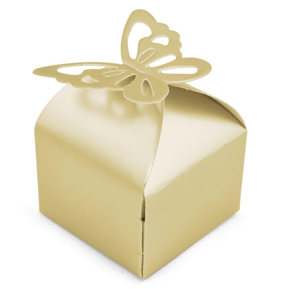 TRIXES 50 Pcs Wedding Favour Boxes on OnBuy