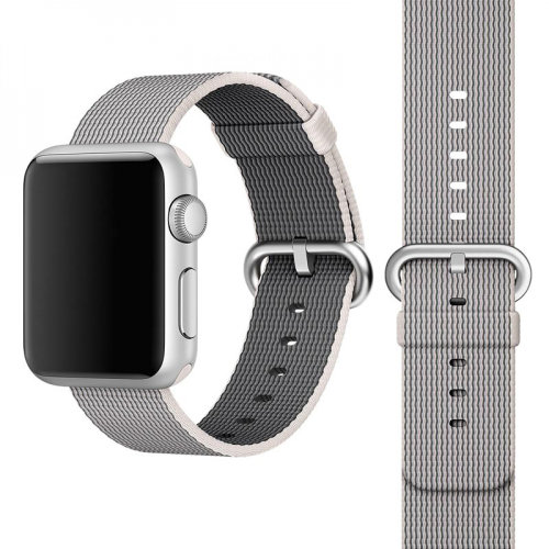 Woven Nylon Apple Watch Replacement Strap Wrist Band - iWatch Series 1 2 3 4