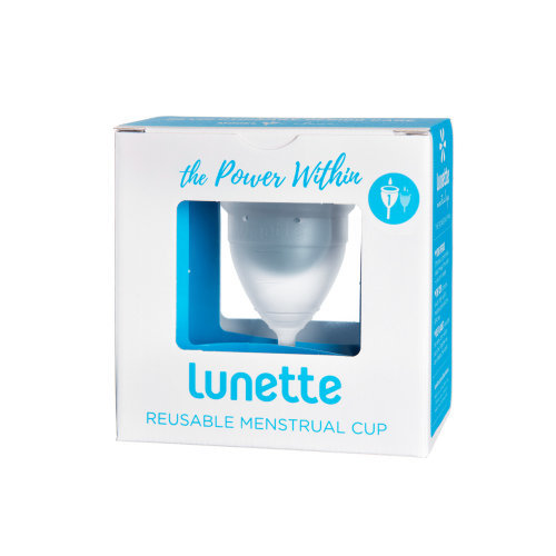 Lunette  Menstrual Cup Clear Model 1 Single