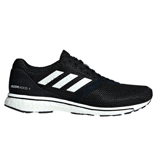 adidas adiZero Adios 4 Womens Running Fitness Trainer Shoe Black