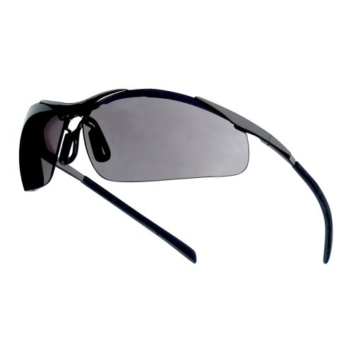 Bolle CONTOUR METAL CONTMPSF Safety Glasses Spectacles Smoke Lens