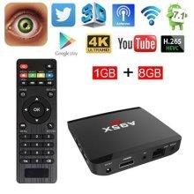 A95X R1 TV Box Android 7.1 1GB/8GB Quad Core HD 4K WiFi & LAN VP9 DLNA H.265