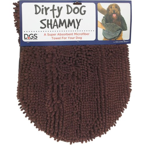Dirty Dog Shammy Brown 33x79cm