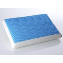 Memory Foam Cushion with Gel 60x40 cm - Sleeping Pillow - Orthopaedic - EMIN