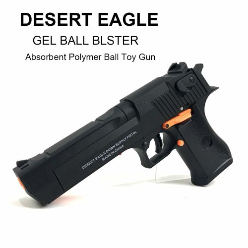 DESERT EAGLE Gel Ball Blaster- Shape and texture emulation