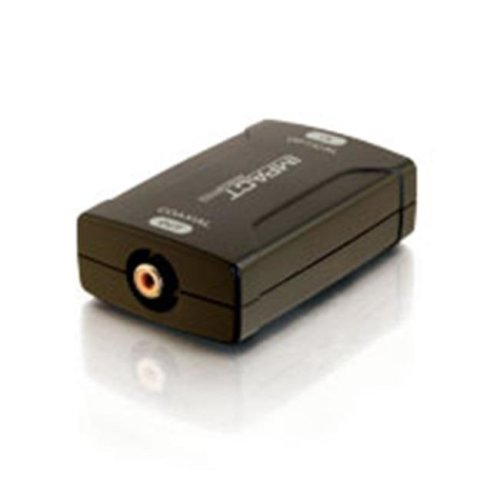Cables To Go 40019 Optical to Coaxial Digital Audio Converter