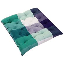 Soft Cotton Stripe Classic Green Pattern Fashion Cushion Mat