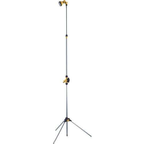 Garden Extendable Tripod Telescopic Shower Lance Water Spray Lawn Sprinkler Gun