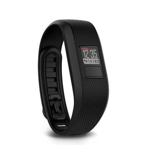 Garmin Vivofit 3 Wireless Fitness Wrist Band and Activity Tracker - Regular (Up to 195 mm Wrist Size), Black