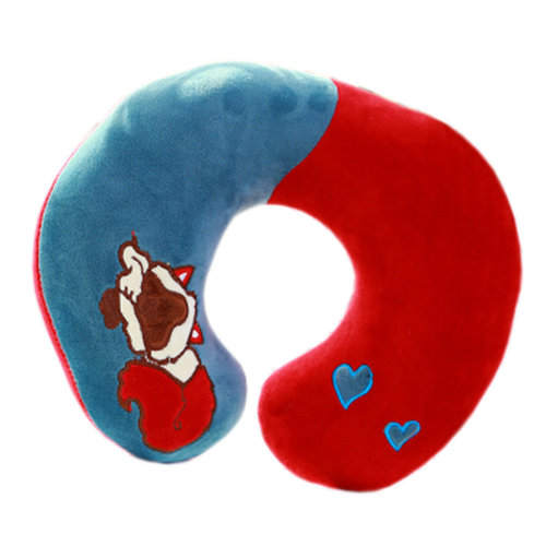 Soft Mixed Colors U Shape Pillow Neck And Head Support Pillow, No.2