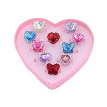 A Box of Kids Party/Wedding Ring Girl Hand Ornaments Kids Pretended Toy